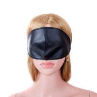 Sexet blindfold- som dækker både øjne og næse- sort