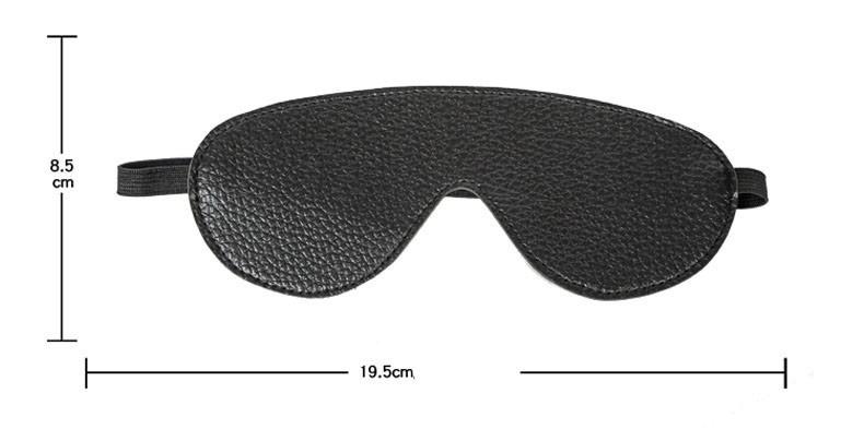Lækker blindfold maske til forførrende leg- med mål