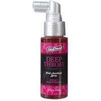 deep throat spray strawberry